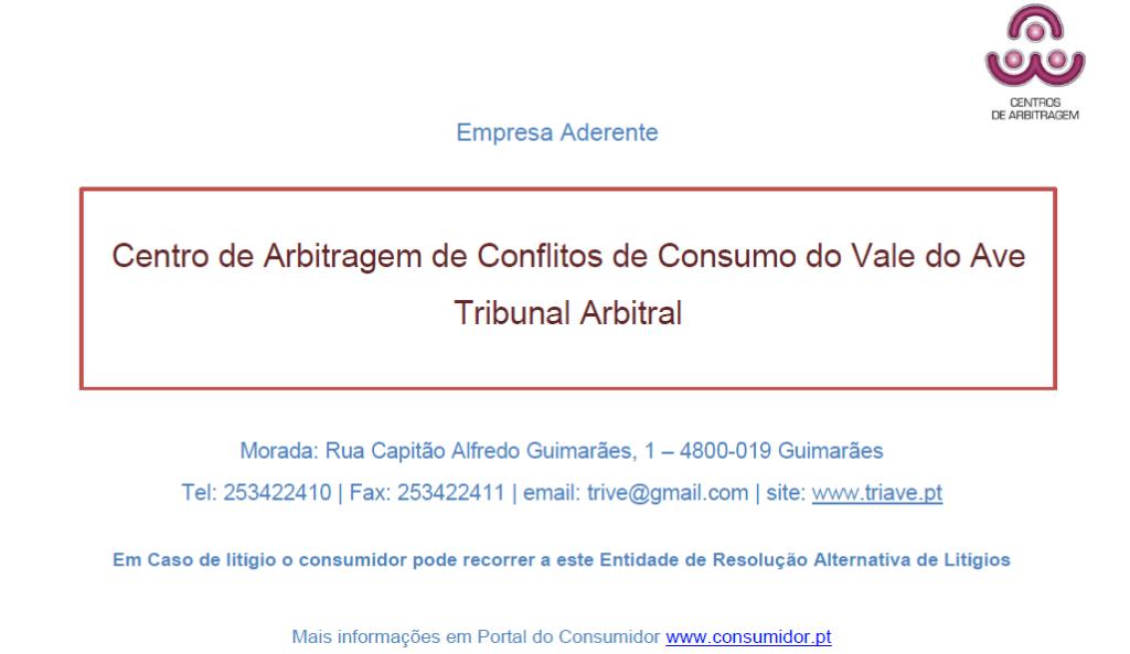 Centro de Arbitragem de Conflitos de Consumo do Vale do Ave